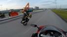 Wheel Up, Rider Down