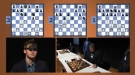 3 Simultaneous Chess Matches Blindfolded?  No Problem