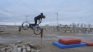 Ever Heard Of A Bump Front Flip?