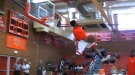 "6'2"" Highschool Junior Dunks Like A Pro"