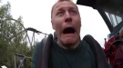 This Guy Has A Weird Reaction To Rollercoasters