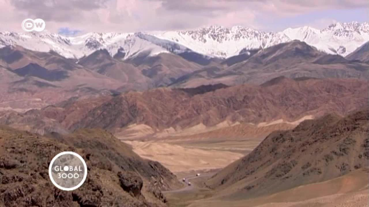 Global Snack Kyrgyzstan: lepyoshka
