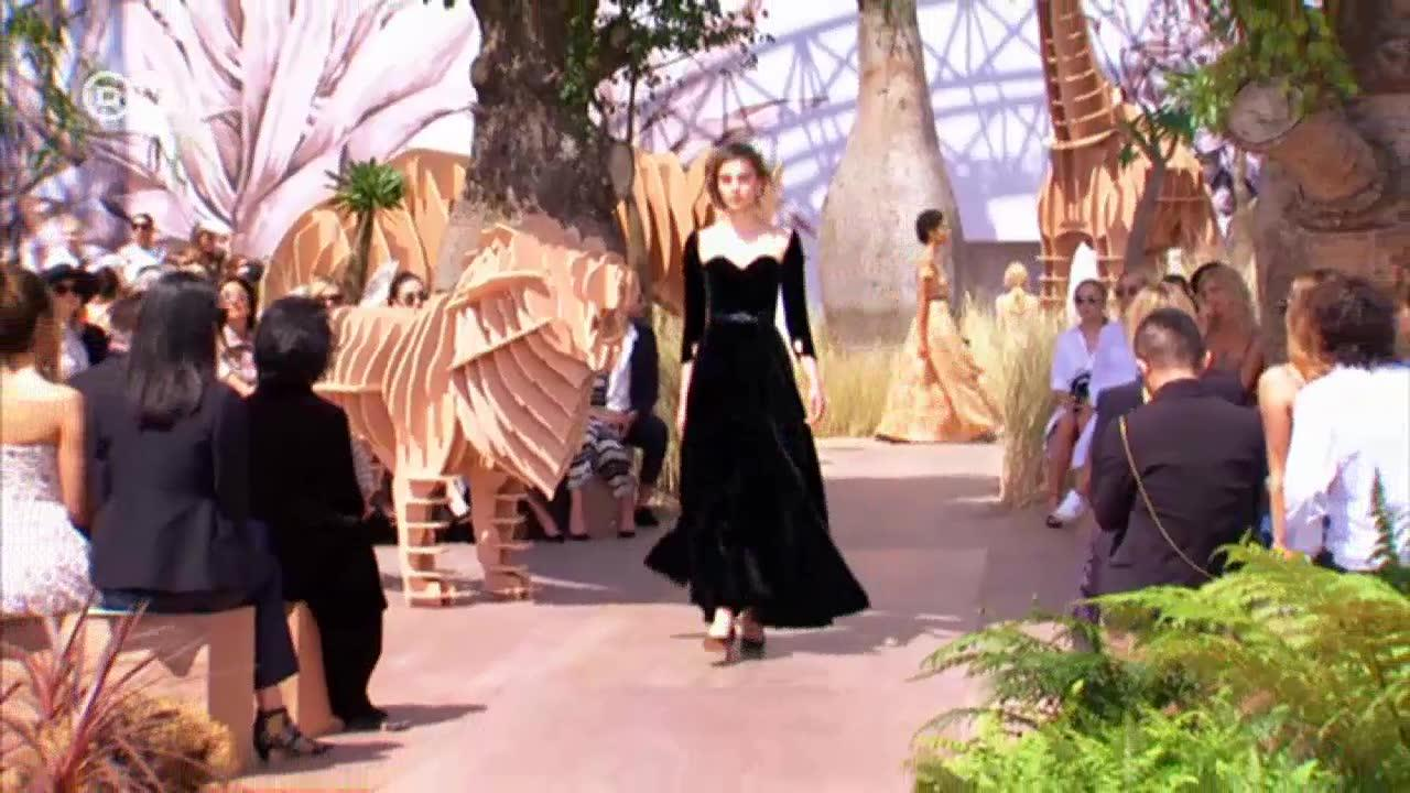 Haute couture with tradition: dior turns 70