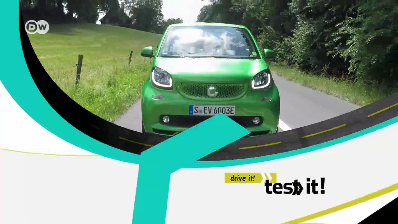 Fun: smart fortwo electric drive cabriolet