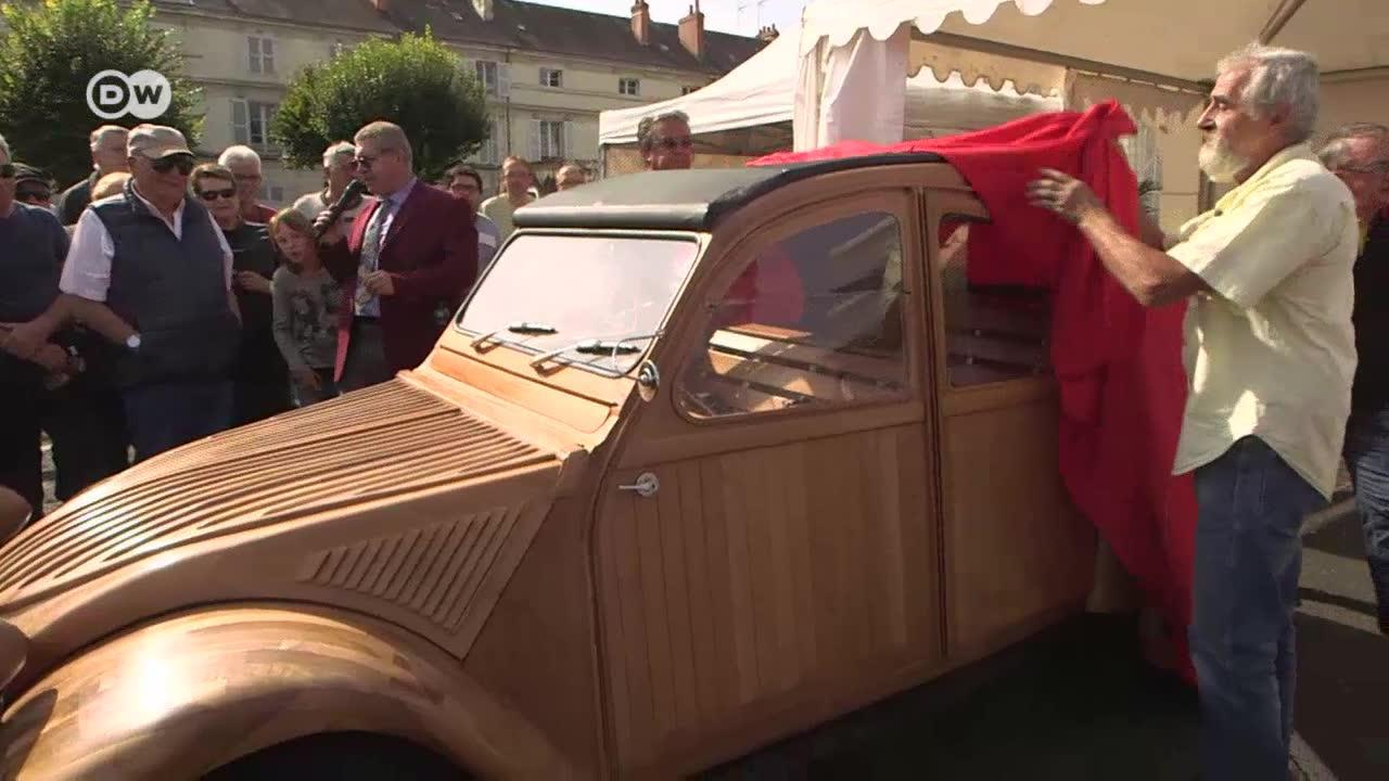 An Automotive Legend Made Of Wood