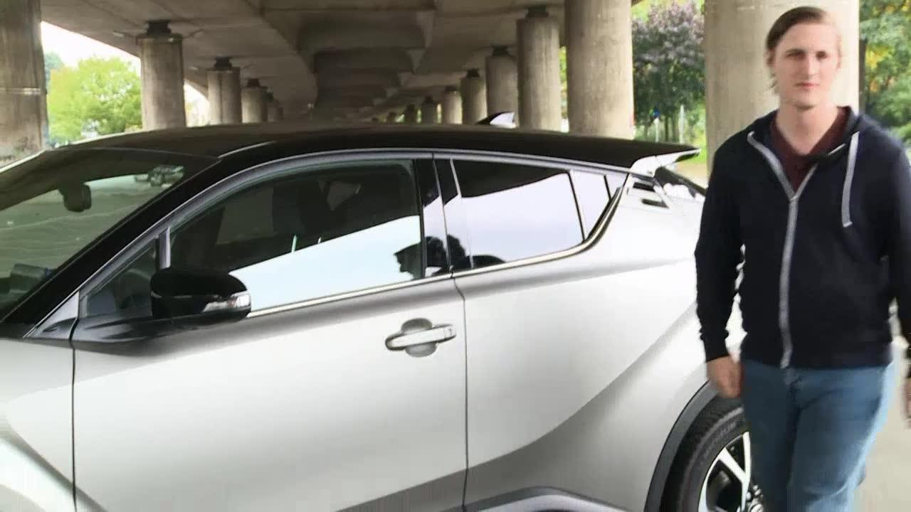 On The Road With The Toyota C-Hr
