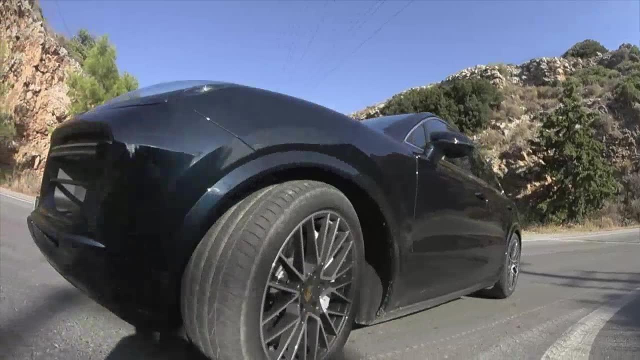 The Porsche Cayenne Turbo