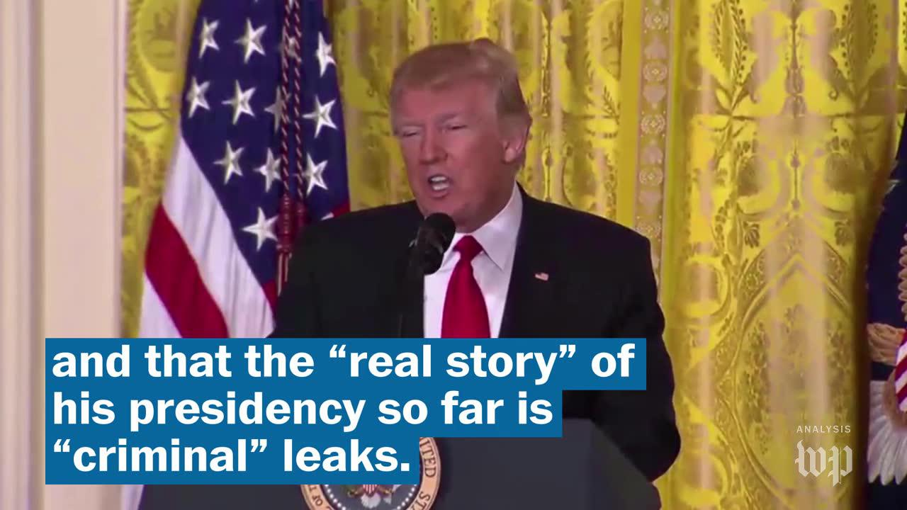 Trump was a big fan of Wikileaks - but he doesn't like leaks from his own administration