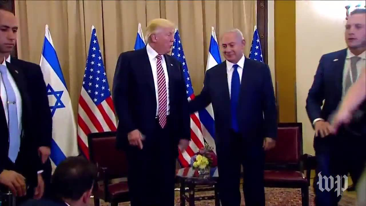 Trump: 'I never mentioned the word or the name Israel'