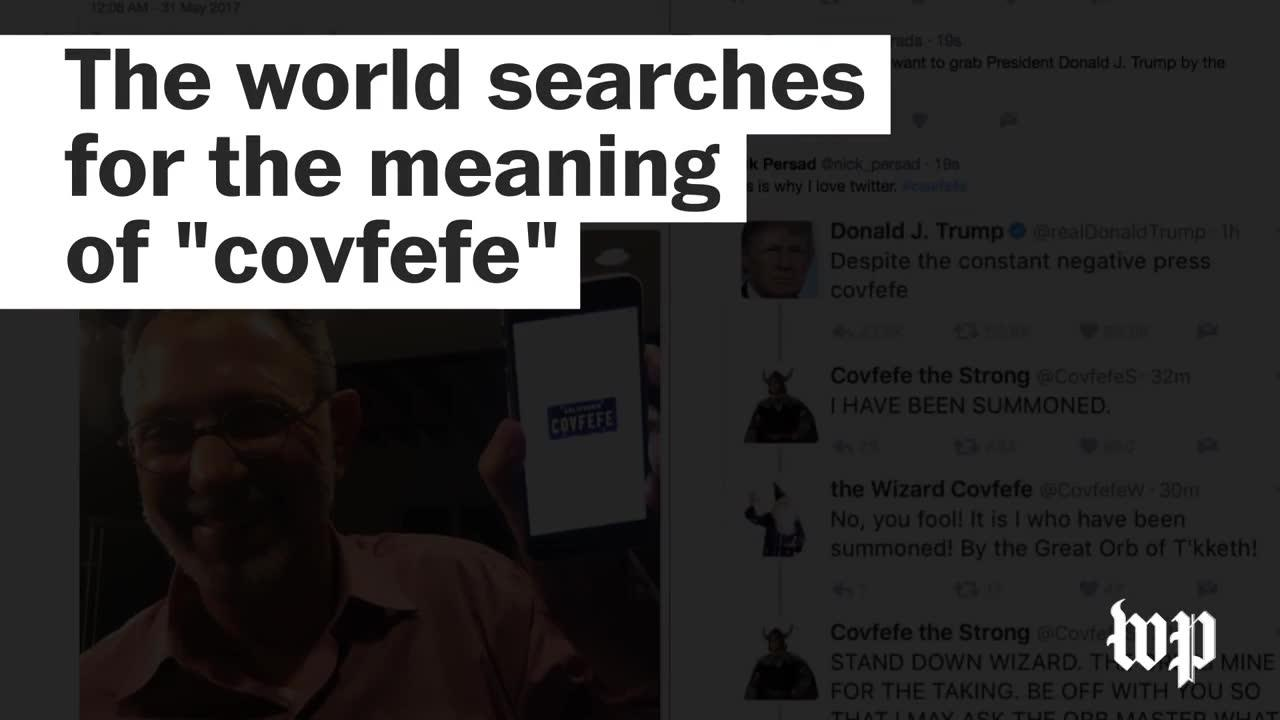 World searches for the meaning of 'covfefe'