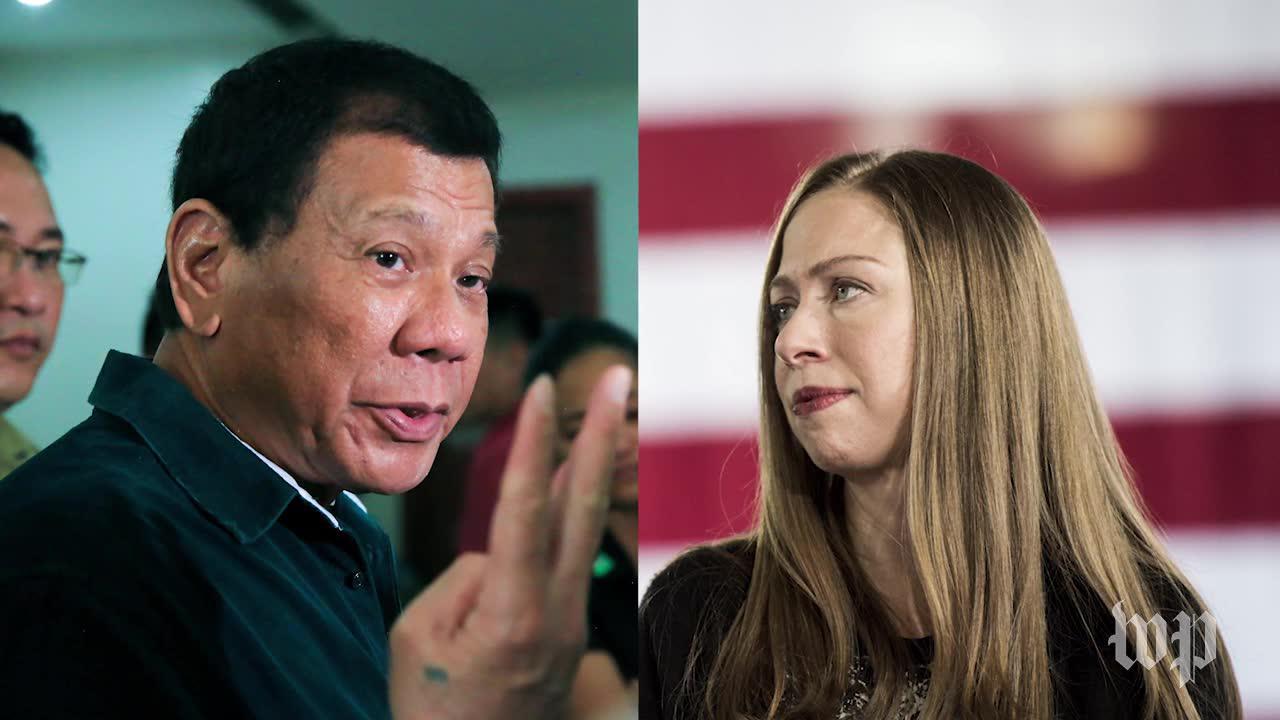 Duterte keeps attacking Chelsea Clinton