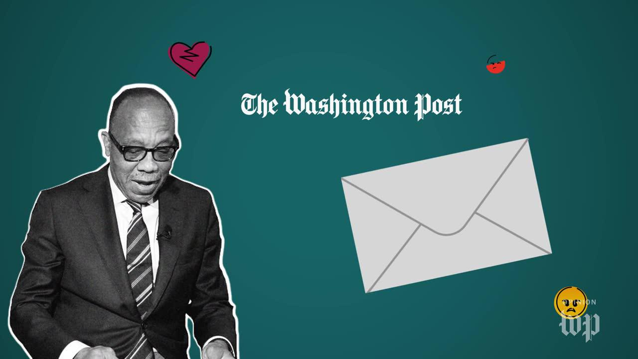 Washington post hate mail: Eugene Robinson does his 'own idiocy'