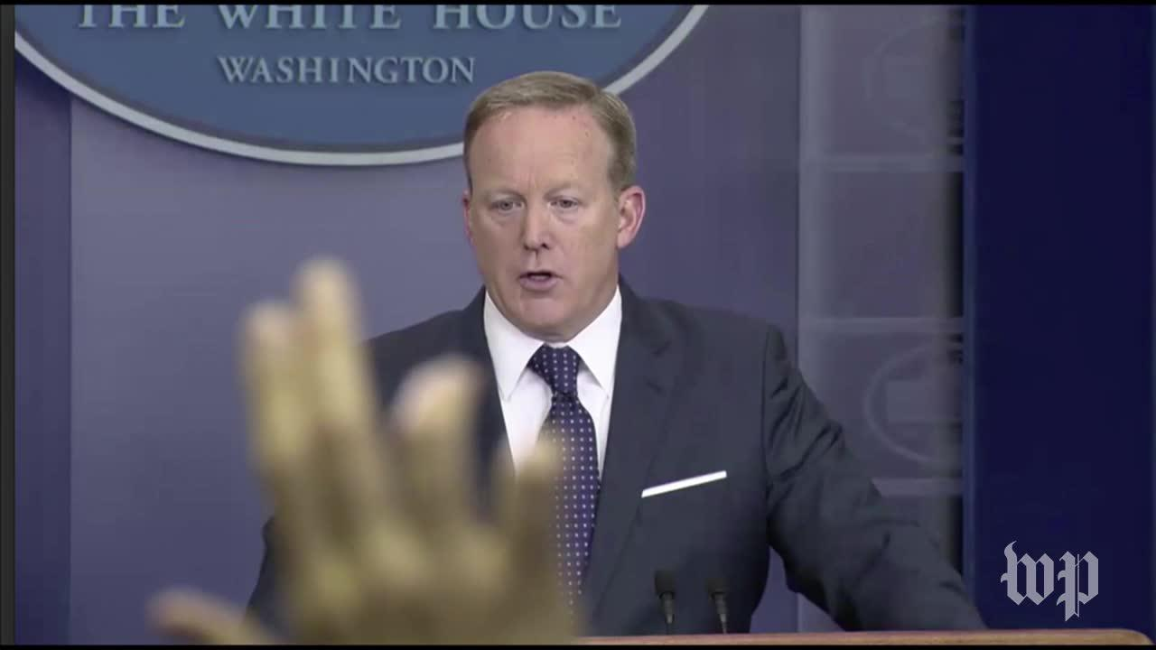 Is White House press secretary Sean Spicer out of the loop?