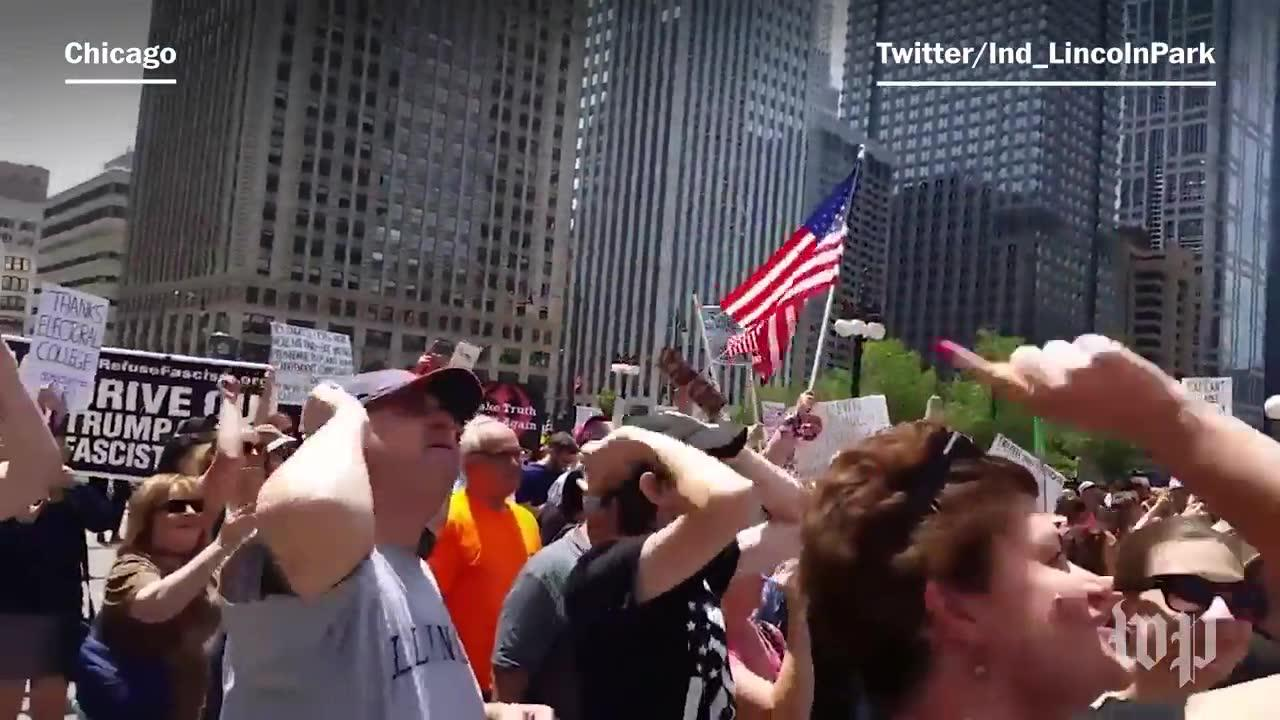 'March for Truth' protests take place around the country