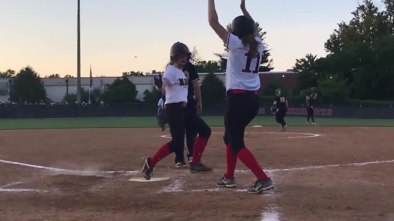 Madison softball walks off Osbourn Park to win 6A North title
