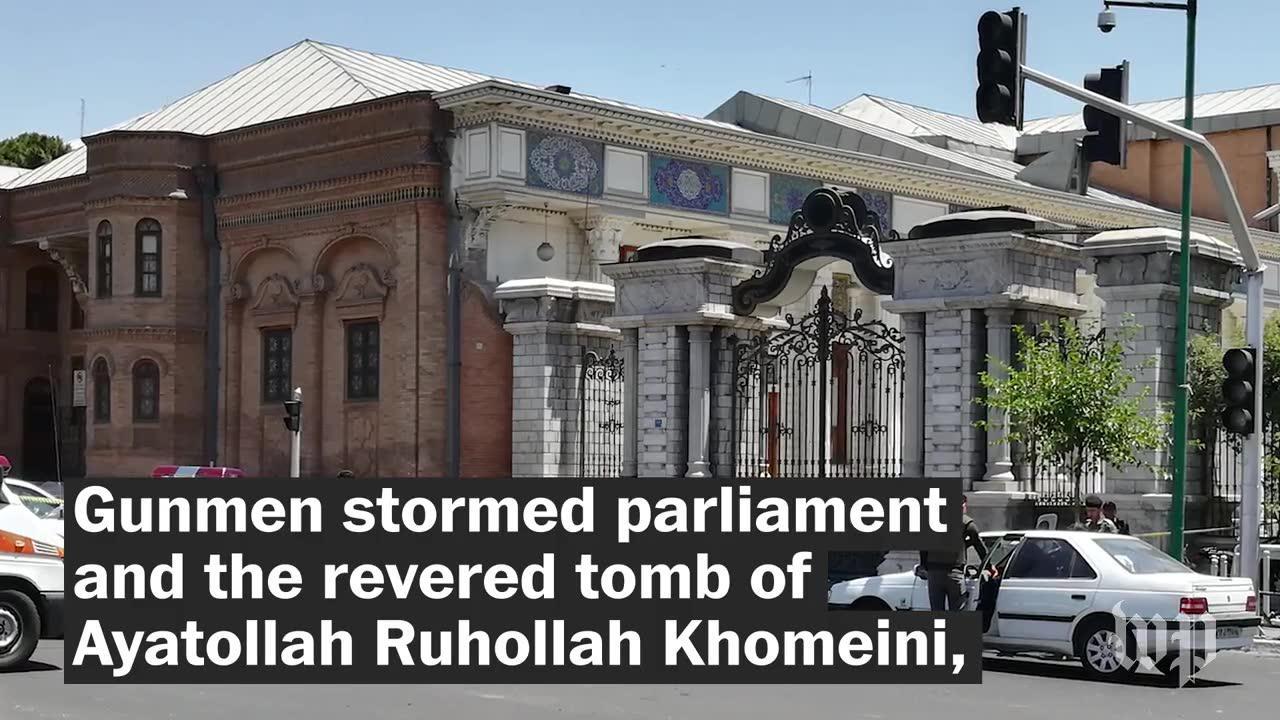 Attacks in Iran's capital kill 12