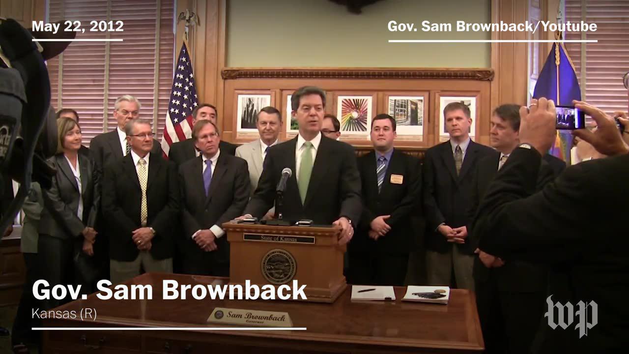 How Sam Brownback's tax 'experiment' failed