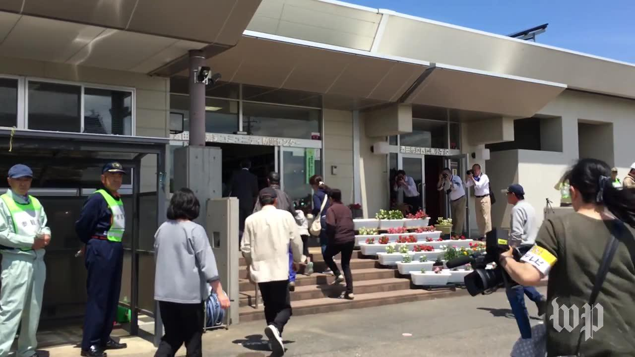 Japanese town holds first preparedness drill since WWII