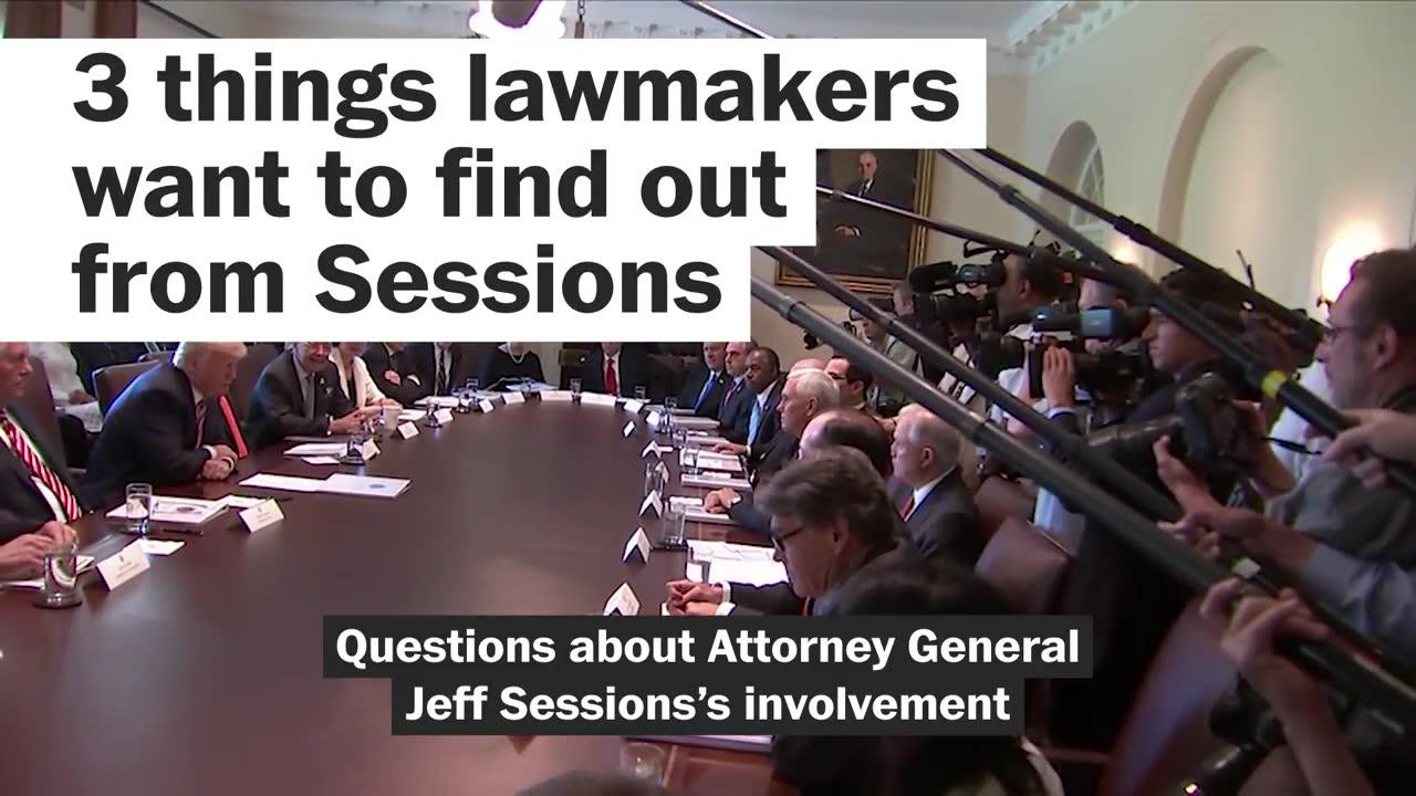 3 things senators want to find out from Sessions