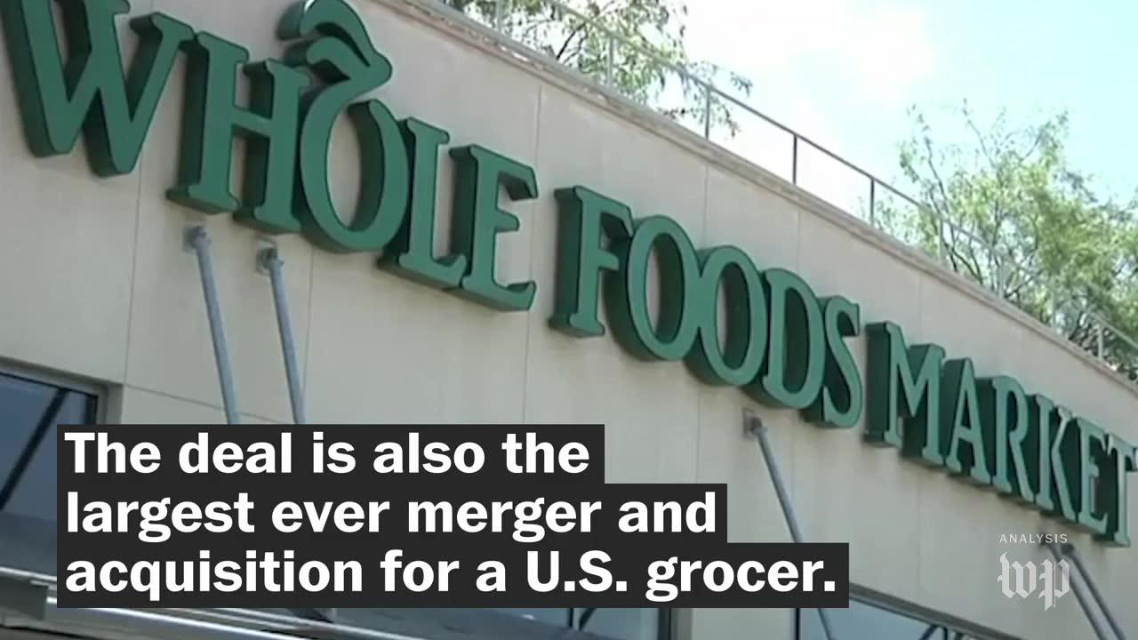 Amazon acquires Whole Foods. Here's why that's such a big deal.