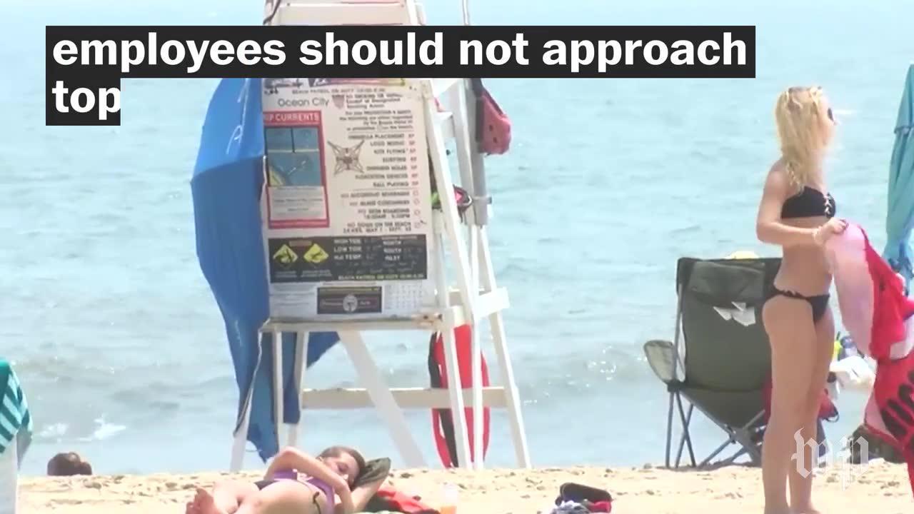 Are women allowed to sunbathe topless in Ocean City, Md.?