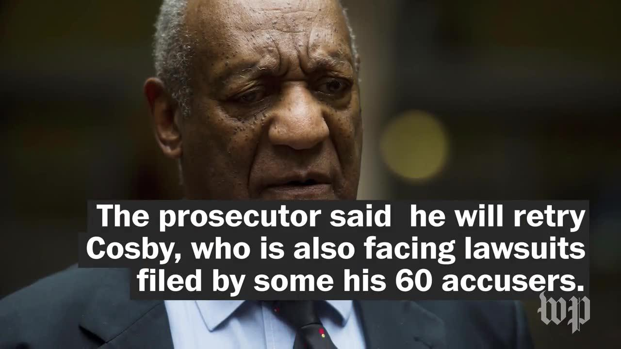 Judge declares a mistrial in Bill Cosby sex assault trial