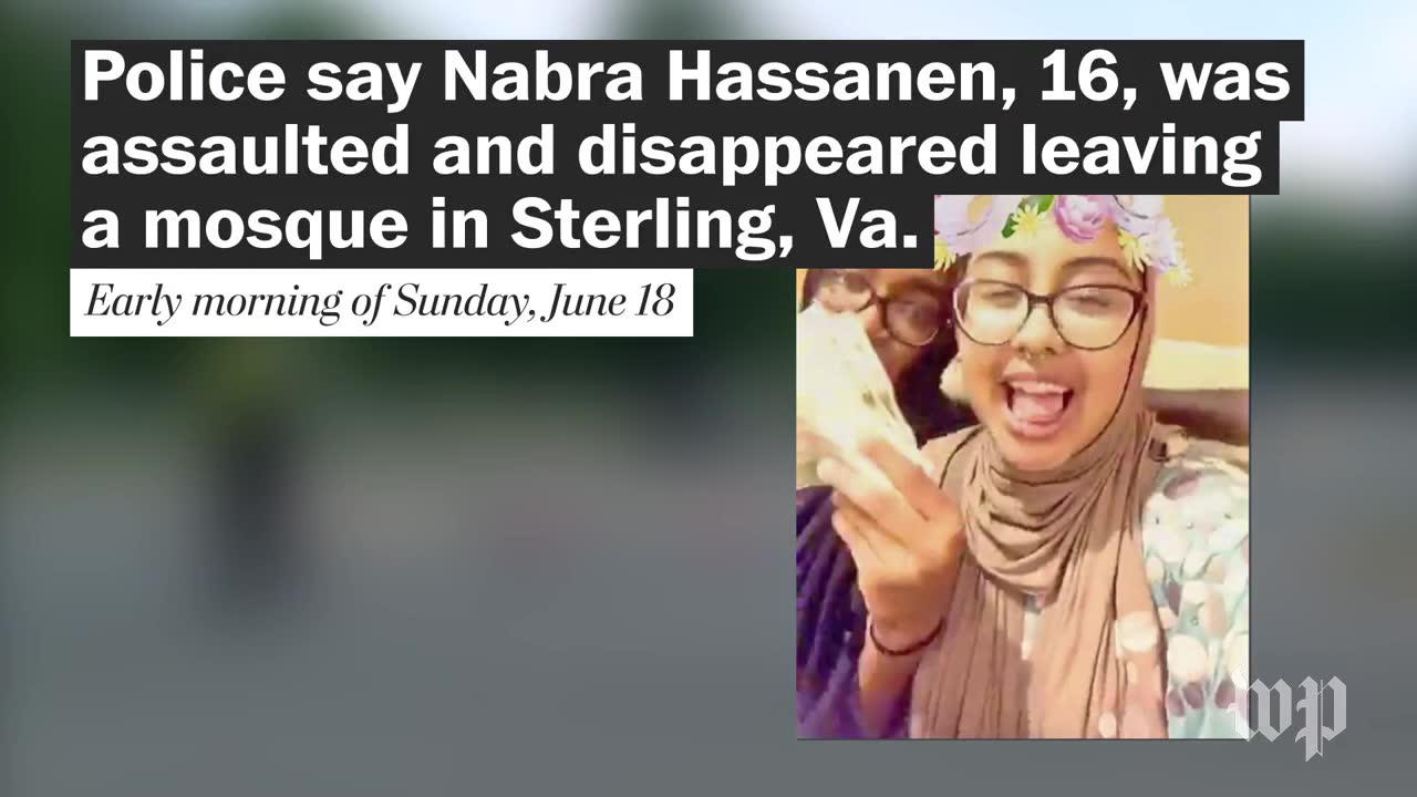 16-year-old Muslim girl assaulted and killed after leaving Virginia mosque