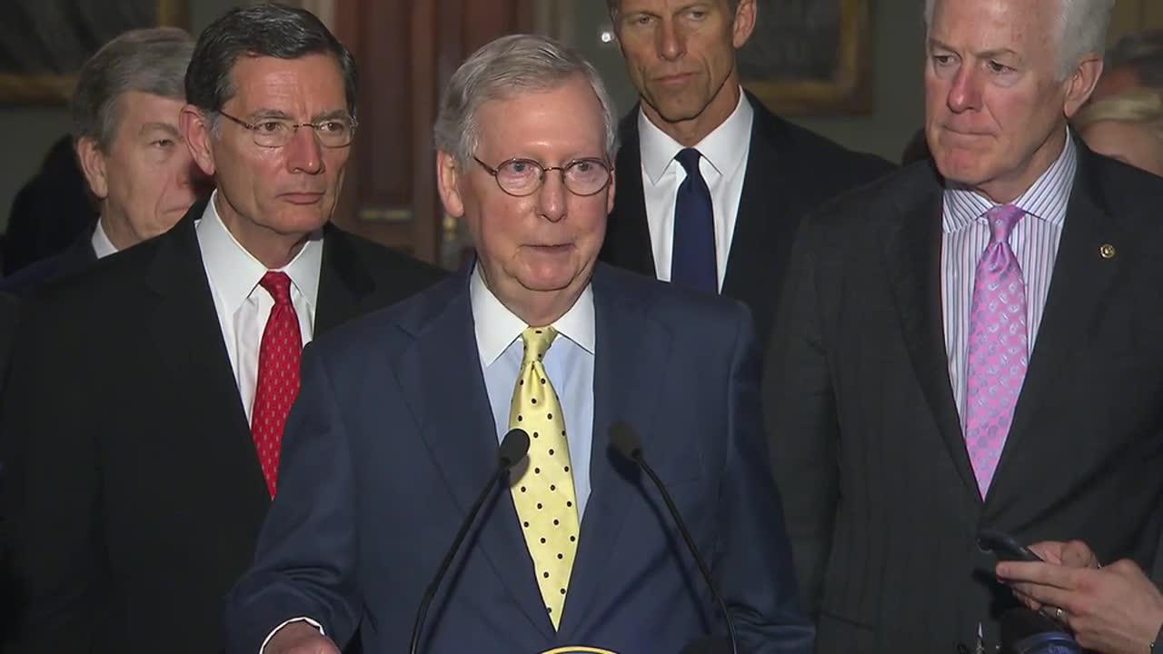 McConnell: Americans will have 'plenty of time' to look at health-care bill