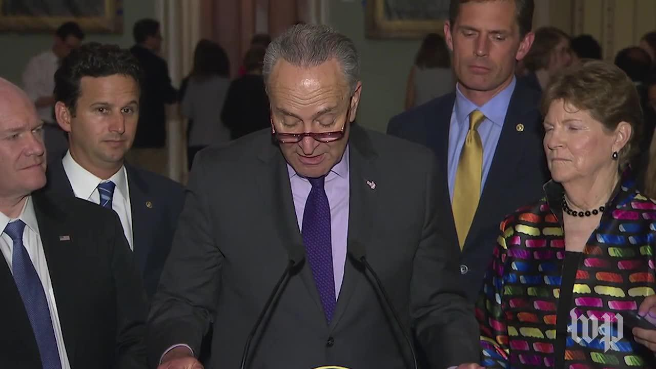 Schumer accuses GOP of 'sabotaging the health-care system'