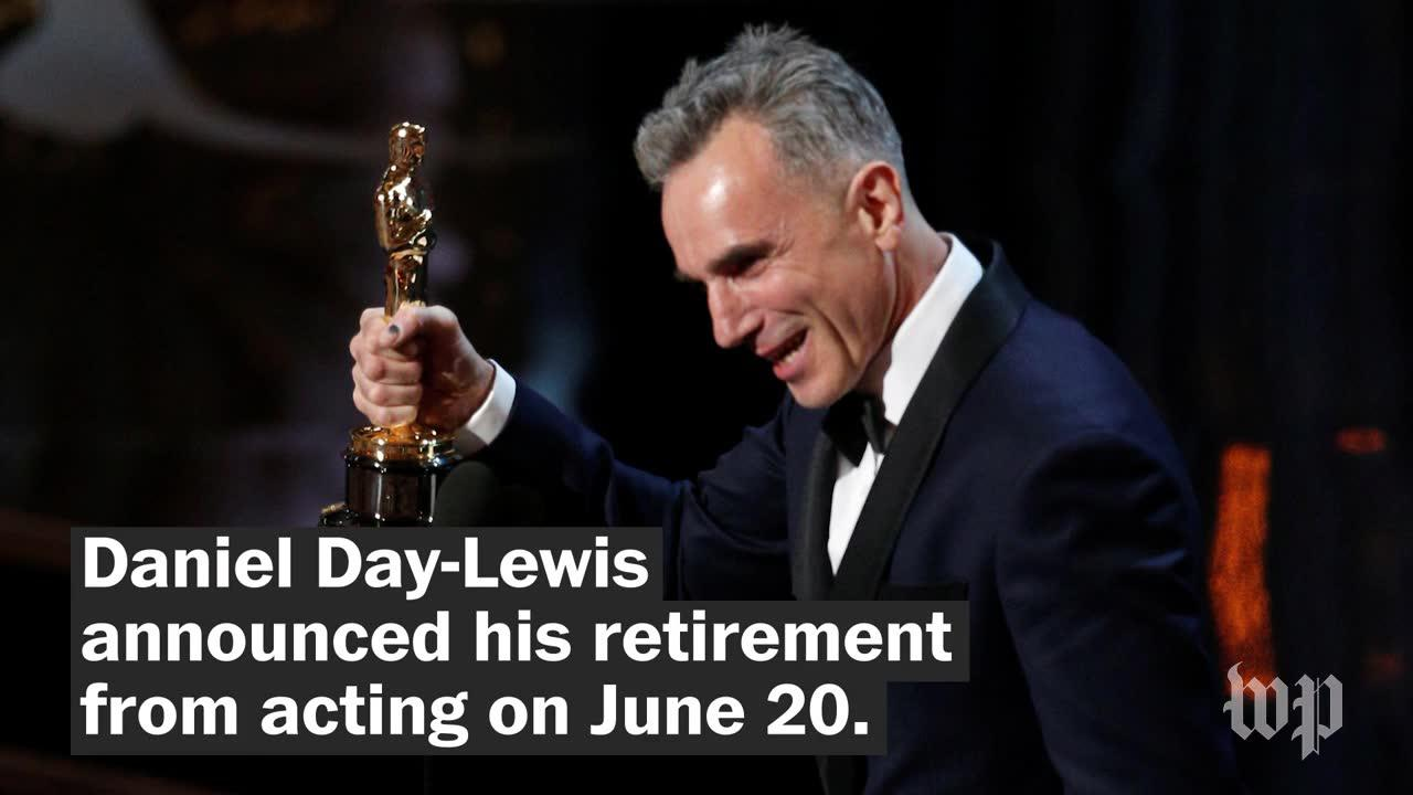 A look back at the career of Daniel Day-Lewis