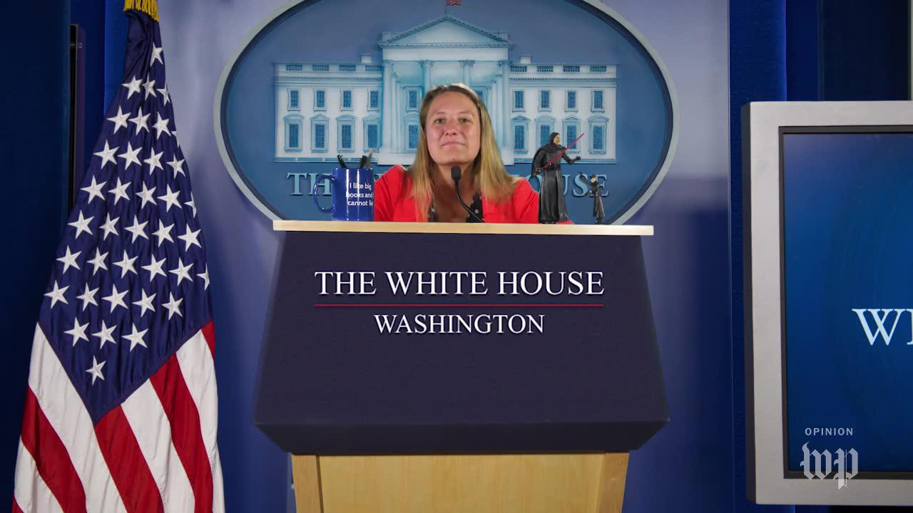 Alexandra Petri 'interviews' for White House press secretary