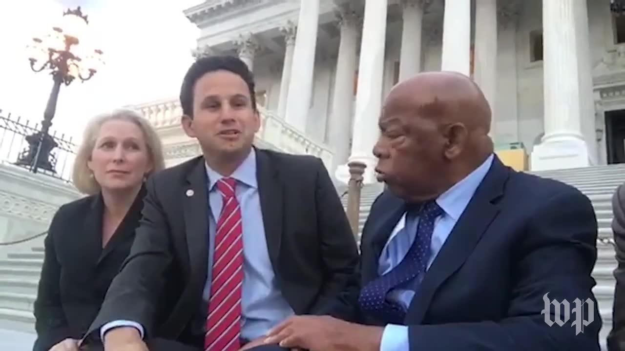 Cory Booker stages sit-in over health-care bill
