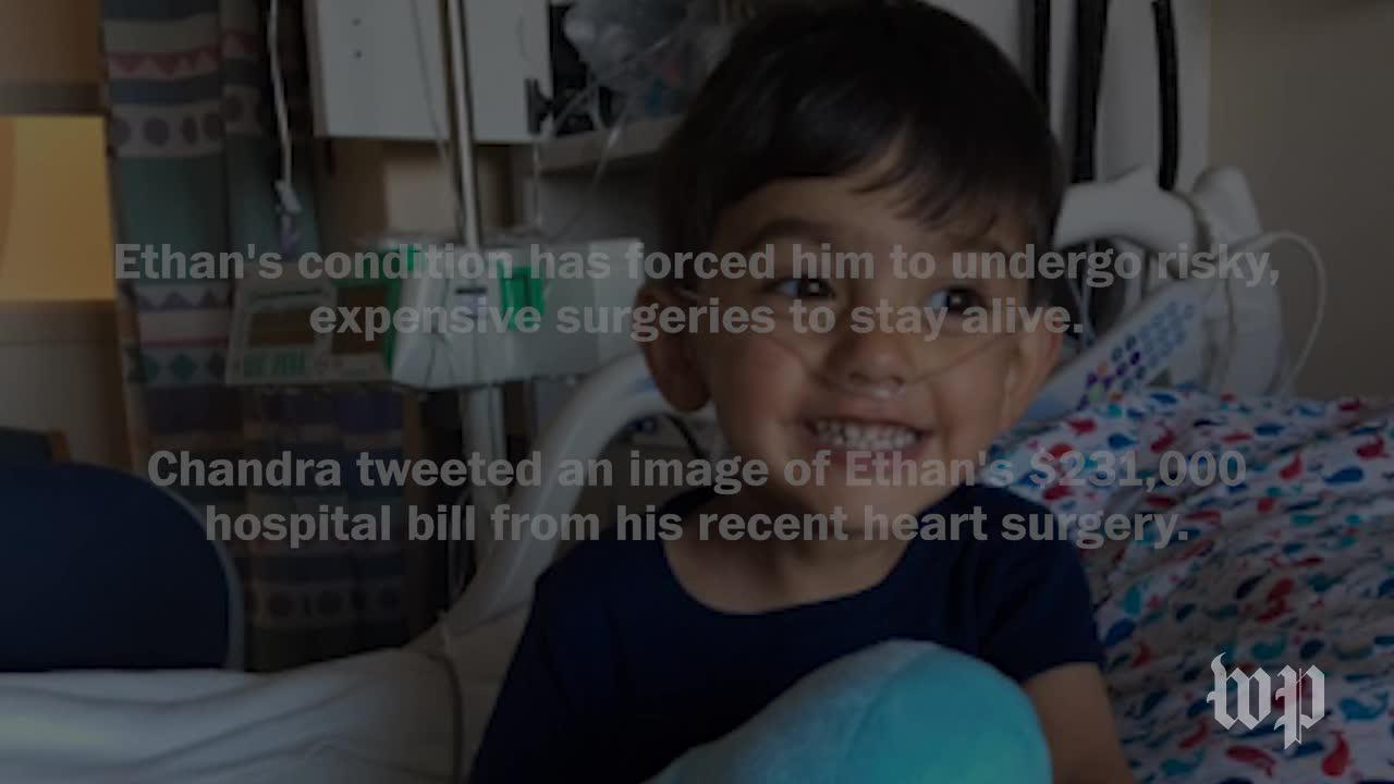This 3-year-old's last hospital bill was $231,000. His mother has a message for lawmakers.