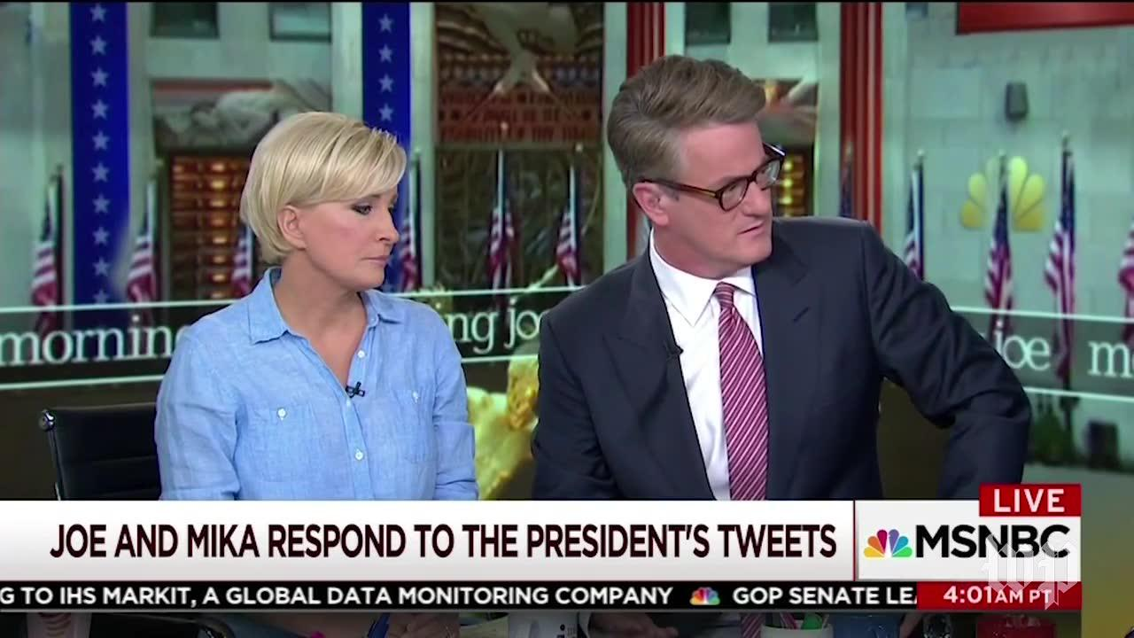'Morning Joe' hosts respond to Trump's barrage of tweets