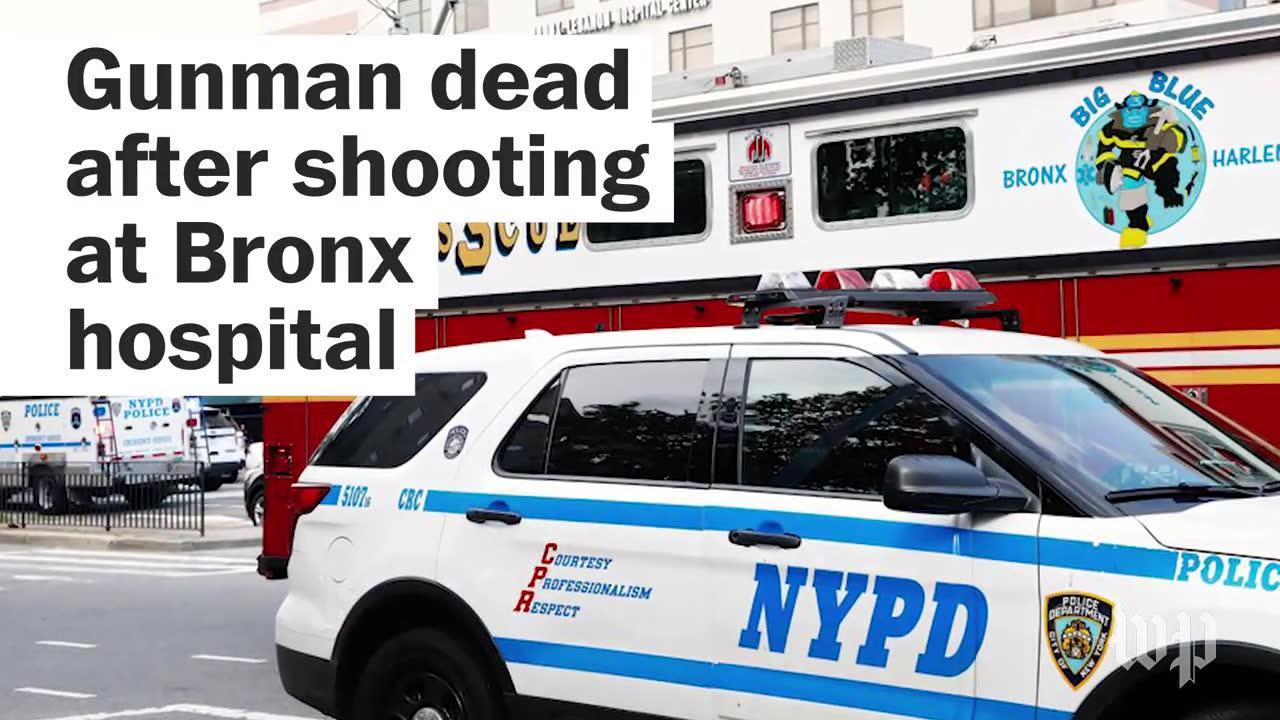 Gunman, 1 dead after shooting at Bronx hospital