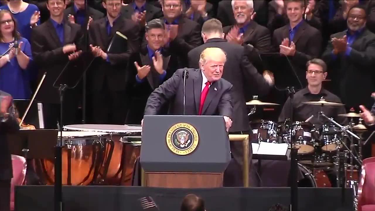Trump's entire speech at the Celebrate Freedom Concert