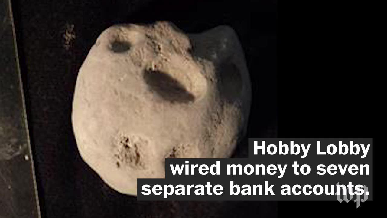 Doj fines hobby lobby $3 million for smuggling iraqi artifacts
