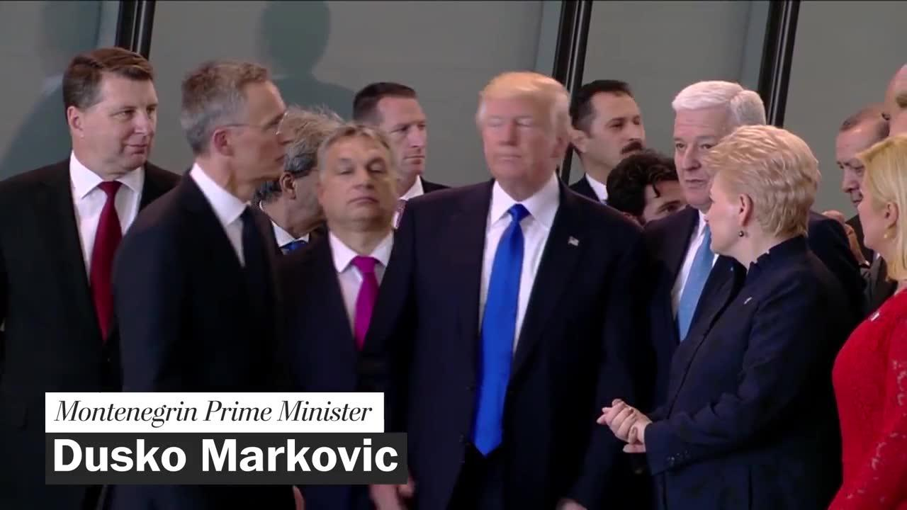 Trump's awkward greetings with foreign leaders