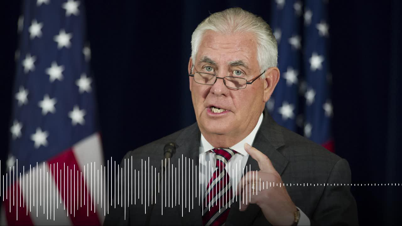 Tillerson describes meeting between trump and putin