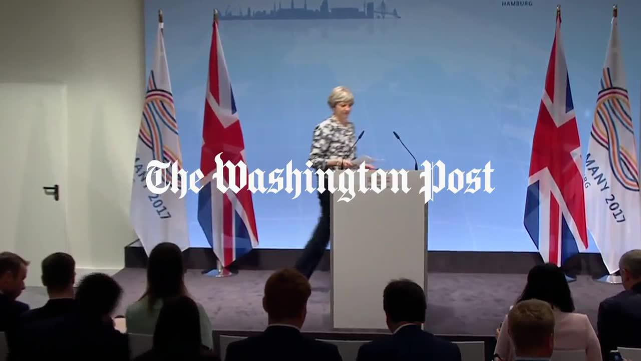 Watch: british prime minister theresa may's g-20 news conference