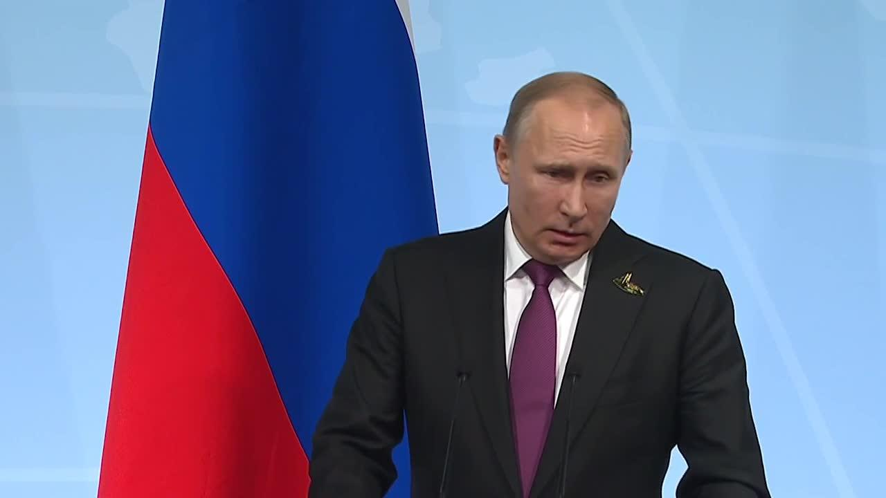 Watch: russian president vladimir putin take questions