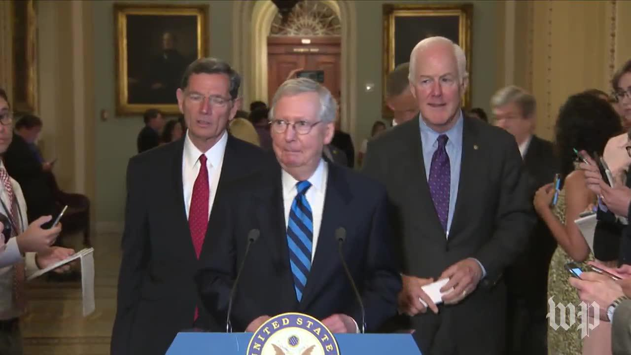 Mcconnell blames recess delay on 'unprecedented level of obstruction'