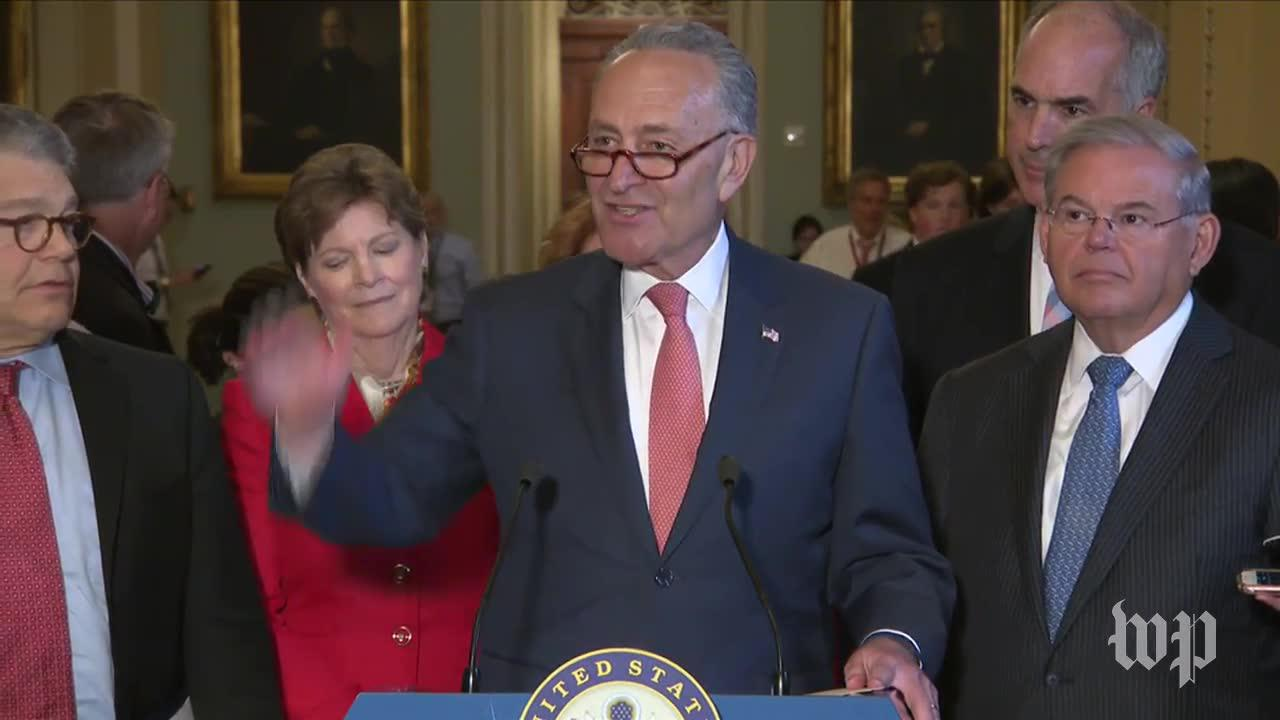 Schumer on recess delay: 'two weeks isn't going to solve their problem'