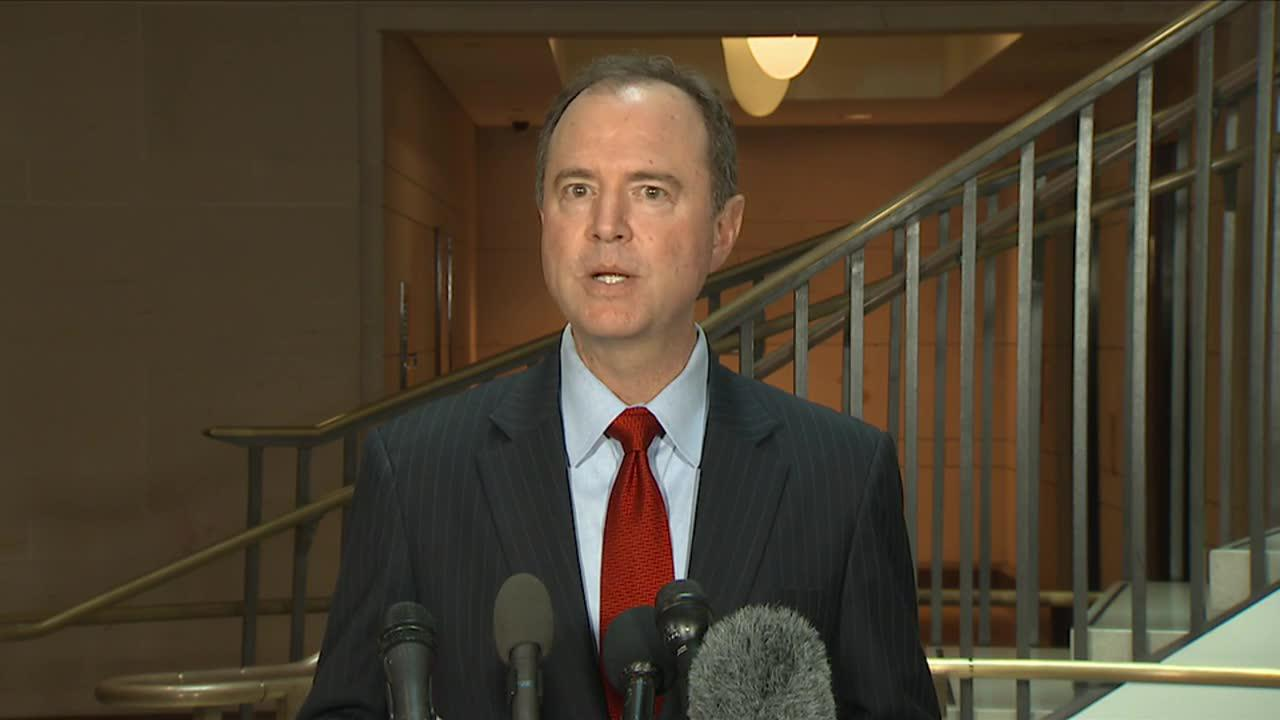 Schiff calls trump jr.'s actions 'a breach in civic responsibility'