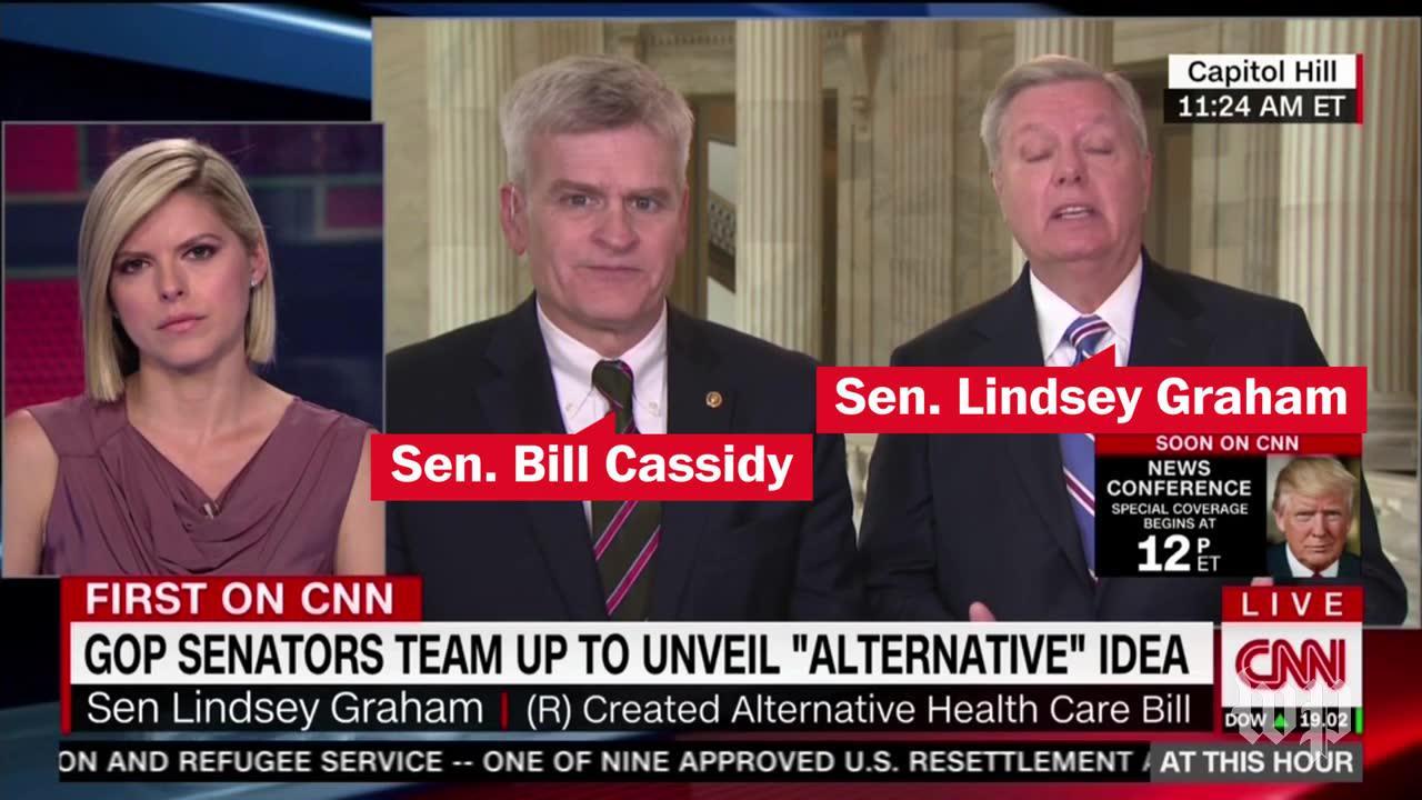Senate republicans unveil competing health care proposals