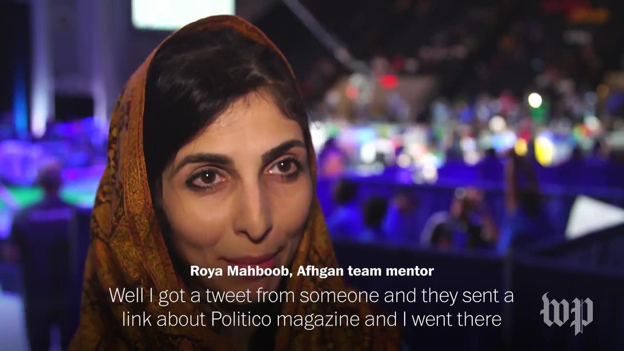 Afghan Girls Overcome Challenges To Attend Robotics Competition
