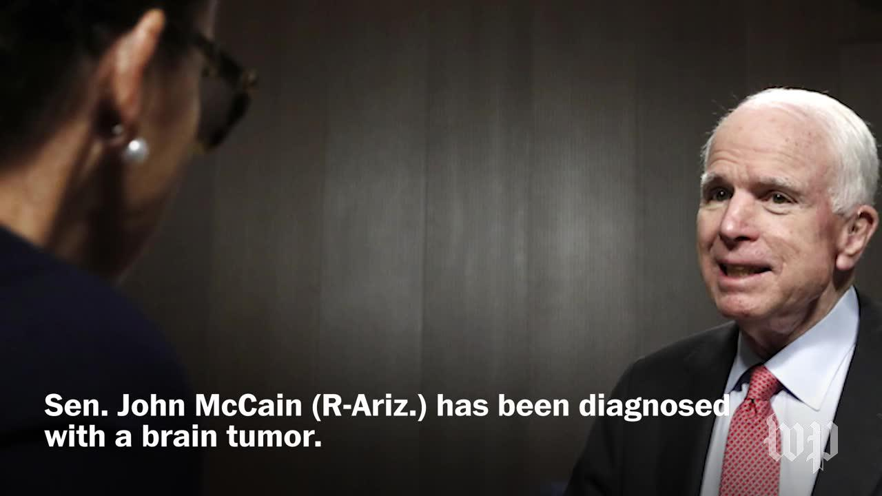 Mccain Diagnosed With Brain Tumor