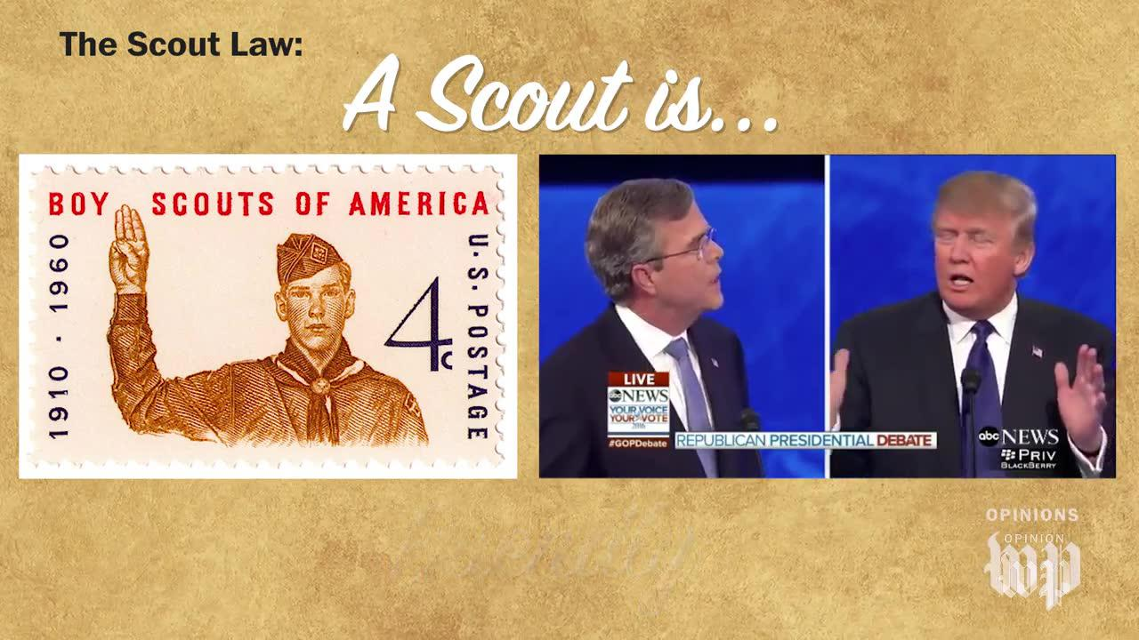 The Scout Law Vs. President Trump