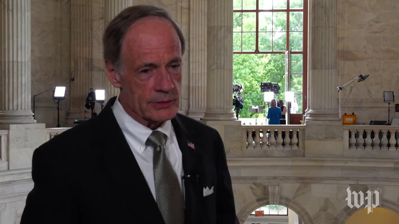 Carper: 'Great' That Mccain Is Back In The Senate