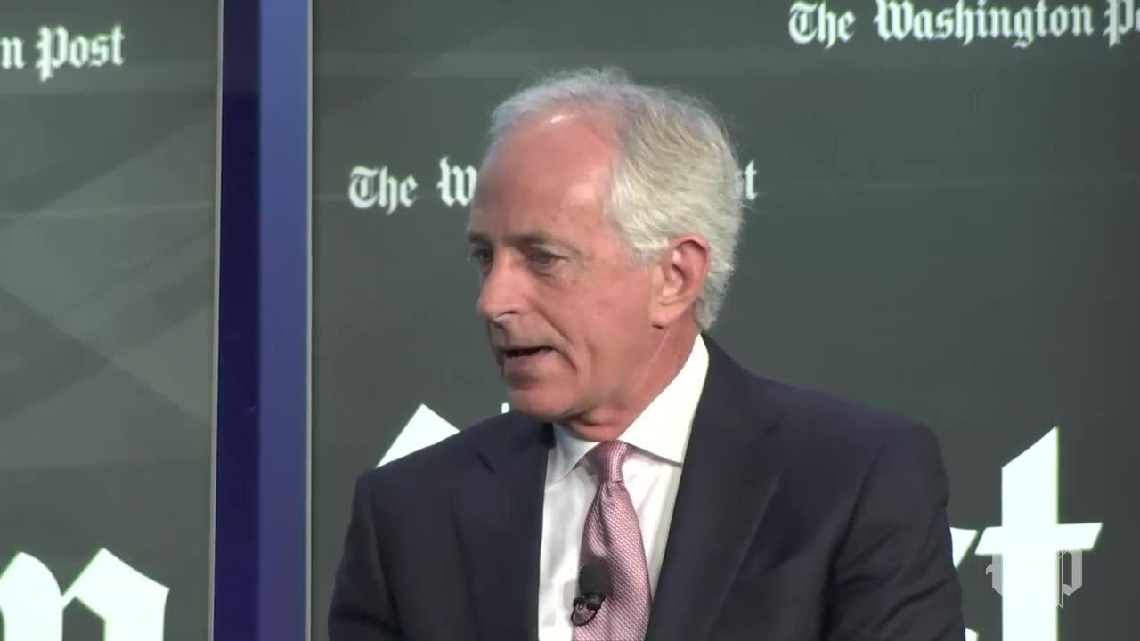 Sen. Bob Corker: 'We Didn'T' Negotiate With The White House On Russia Sanctions Bill